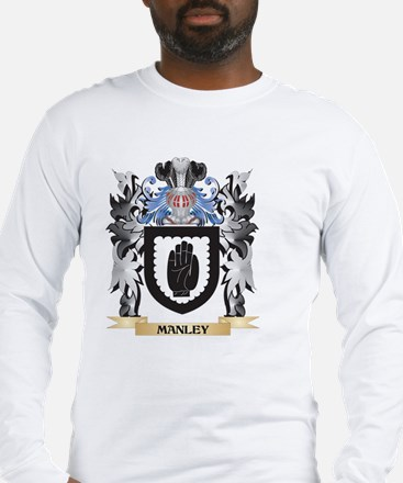 Manley Coat of Arms - Family C Long Sleeve T-Shirt