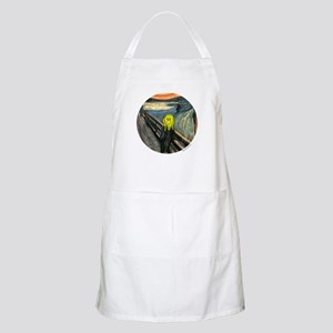 Smiley Scream BBQ Apron
