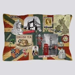Anglophile's Pillow Case