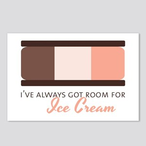 Room For Ice Cream Postcards (Package of 8)