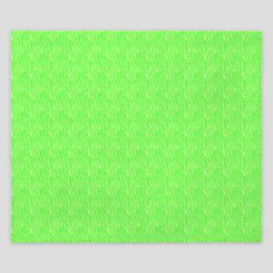 Plain lime Green King Duvet