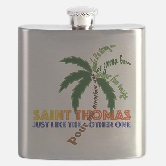Cute St. thomas Flask