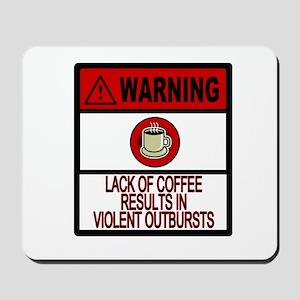 VIOLENT COFFEE ADDICT Mousepad