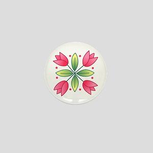 TULIP THIRTEEN Mini Button