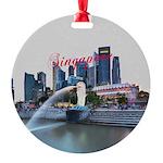 Singapore Round Ornament