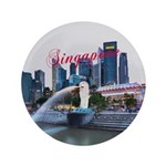 """Singapore 3.5"""" Button (100 pack)"""
