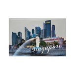 Singapore Rectangle Magnet (100 pack)