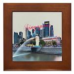 Singapore Framed Tile