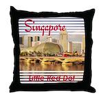 Singapore Throw Pillow
