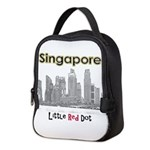 Singapore Neoprene Lunch Bag