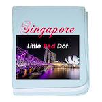 Singapore baby blanket