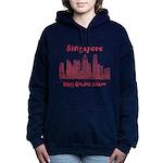 Singapore Women's Hooded Sweatshirt