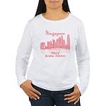 Singapore Women's Long Sleeve T-Shirt