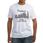 Singapore Fitted T-Shirt
