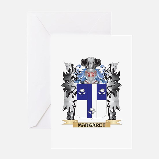 Margaret Coat of Arms - Family Cres Greeting Cards