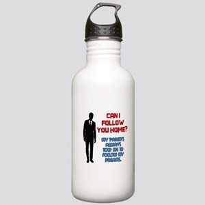 Can I Follow You Home? Stainless Water Bottle 1.0L
