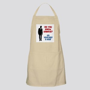 Do You Know Karate? Apron