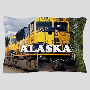 Alaska Railroad Pillow Case