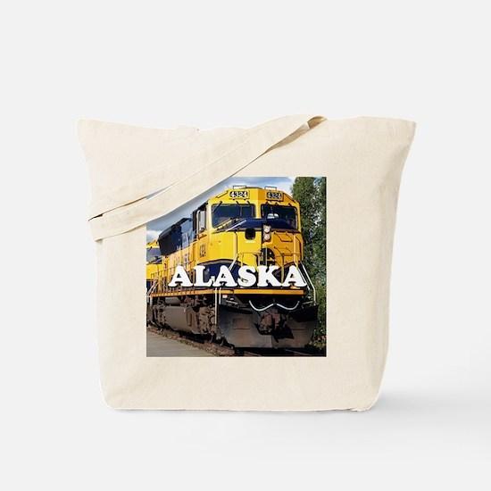 Alaska Railroad Tote Bag