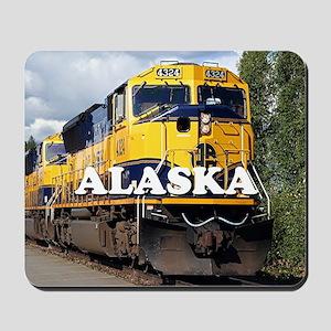 Alaska Railroad Mousepad