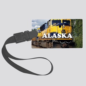 Alaska Railroad Large Luggage Tag