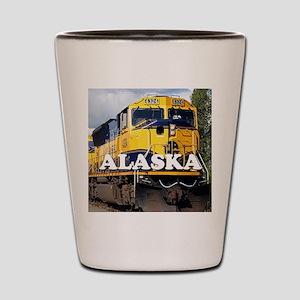 Alaska Railroad Shot Glass