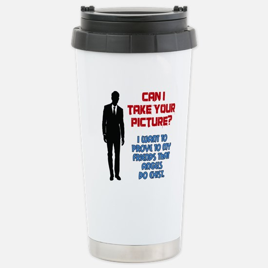 Can I Take Your Picture Stainless Steel Travel Mug