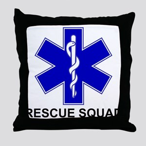 BSL Rescue Squad Throw Pillow