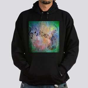 Abstract Music Hoodie (dark)