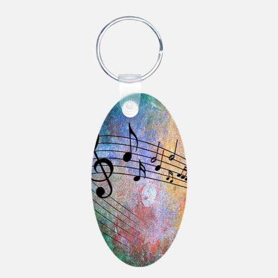 Abstract Music Keychains