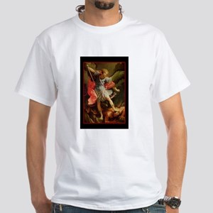 St. Michael - White T-Shirt