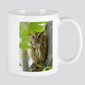 Red Sreech Owl Mugs