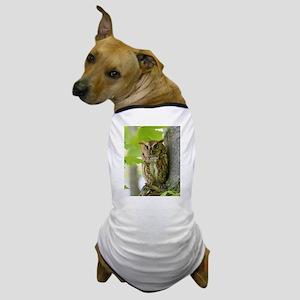 Red Sreech Owl Dog T-Shirt