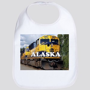 Alaska Railroad engine locomotive 2 Bib