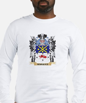 Marquez Coat of Arms - Family Long Sleeve T-Shirt