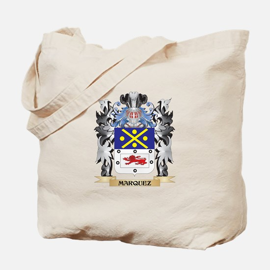 Marquez Coat of Arms - Family Crest Tote Bag