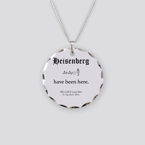 Heisenberg Quiz Necklace Circle Charm