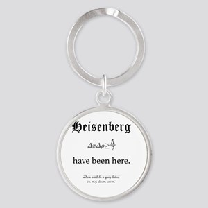 Heisenberg Quiz Round Keychain