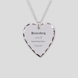 Heisenberg Quiz Necklace Heart Charm