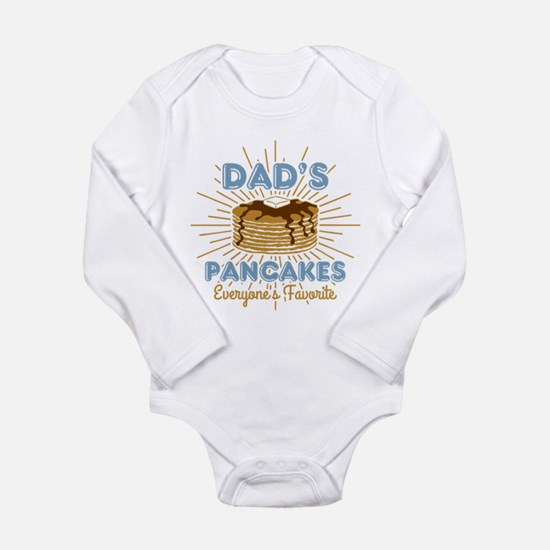 Dad's Pancakes Long Sleeve Infant Bodysuit