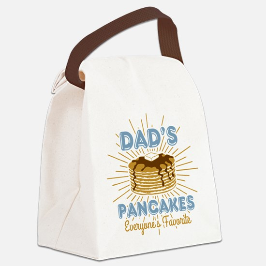 Dad's Pancakes Canvas Lunch Bag