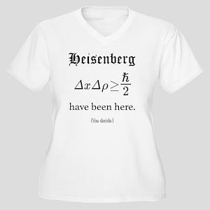 Heisenberg Observ Women's Plus Size V-Neck T-Shirt