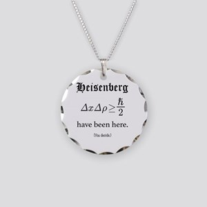 Heisenberg Observer Necklace Circle Charm