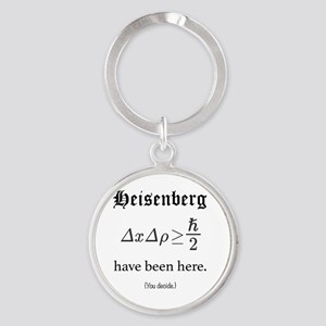 Heisenberg Observer Round Keychain