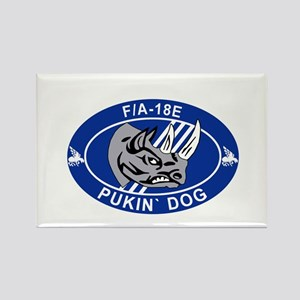 VFA-143 Pukin' Dogs Rectangle Magnet