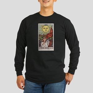 """The Sun"" Long Sleeve Dark T-Shirt"