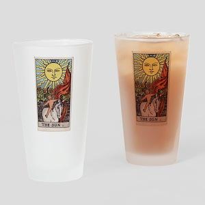 """The Sun"" Drinking Glass"