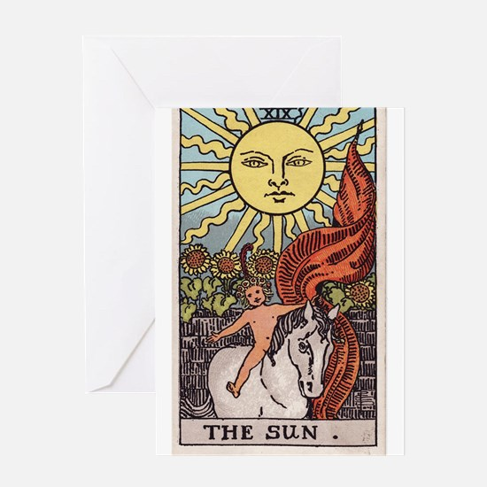 """The Sun"" Greeting Card"