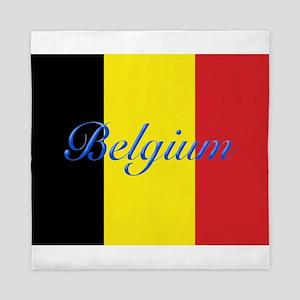 Belgium Flag Queen Duvet