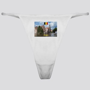 Stunning! Bruges canal Classic Thong